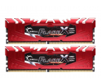 G.SKILL 32GB 2400MHz FlareX Black Ryzen CL15 Red (2x16GB)  (F4-2400C15D-32GFXR)
