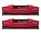 G.SKILL 8GB 2400MHz RipjawsV Red CL15 (2x4GB) (F4-2400C15D-8GVR)