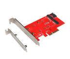 i-tec Adapter PCI-E SATA 2x M.2 Card PCI-E/SATA (PCE2M2)