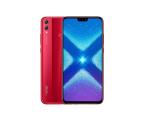 Honor 8x 4/128GB czerwony  (JSN-L21 Red)