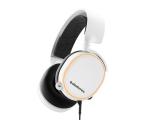 Słuchawki przewodowe SteelSeries Arctis 5 Białe