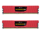 Corsair 16GB 1600MHz Vengeance LP Red CL10 (2x8GB)  (CML16GX3M2A1600C10R)