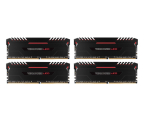 Corsair 32GB 3000MHz Vengeance Red LED CL15 (4x8GB) (CMU32GX4M4C3000C15R)