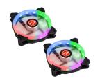Raijintek IRIS Rainbow 120mm RGB (2Pack) (0R400044)