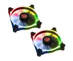 Raijintek Macula 12 Rainbow LED RGB 120mm (2set) (0R400058)