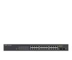 Zyxel 26p GS1900-24HP (24x100/1000Mbit PoE, 2xSFP) (GS1900-24HP-EU0101F Smart Managed PoE)