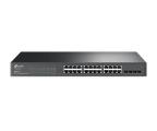 TP-Link 28p T1600G-28TS(TL-SG2424) (24x1000Mbit,4xSFP) (T1600G-28TS(TL-SG2424) (zarządzalny) (SMB))