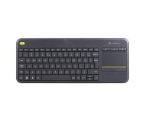 Logitech Wireless Touch K400 Plus czarna (920-007145)