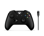 Microsoft Xbox One S Wireless Controller + Kabel PC (4N6-00002 )