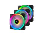 Corsair LL120 RGB LED Static Pressure 120mm PWM (trójpak) (CO-9050072-WW )