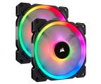 Corsair LL140 RGB LED Static Pressure 140 mm PWM (dwupak) (CO-9050074-WW)