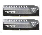 Patriot 16GB (2x8GB) 2666MHz CL16 Viper Elite Grey (PVE416G266C6KGY)