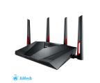 ASUS RT-AC88U (3100Mb/s a/b/g/n/ac, 2xUSB, QAM) (RT-AC88U Gaming MU-MIMO DualBand AC (AiMesh))