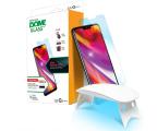 Whitestone Szkło Hartowane Dome Glass + lampa UV do LG G7 (8809365402571)