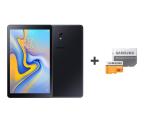 Samsung Galaxy Tab A 10.5 T595 3/32GB LTE Black + 32GB (SM-T595NZKAXEO+MB-MP32GA/EU)