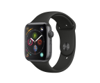 Apple Watch 4 44/Space Gray/Black Sport GPS  (MU6D2WB/A)