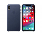 Apple iPhone XS Max Leather Case Midnight Blue (MRWU2ZM/A)