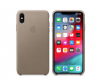 Apple iPhone XS Max Leather Case Taupe (MRWR2ZM/A)
