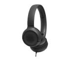 Słuchawki przewodowe JBL T500 Czarne
