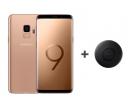 Samsung Galaxy S9 G960F Gold + ładowarka indukcyjna (SM-G960FZDDXEO+EP-P1100BBEGWW)