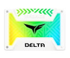 "Team Group 250GB 2,5"" SATA SSD T-Force Delta RGB White (T253TR250G3C413)"