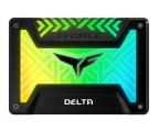 """Team Group 500GB 2,5"""" SATA SSD T-Force Delta RGB Black  (T253TR500G3C313)"""