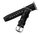 Sena Skórzany Pasek do Apple Watch 42/44mm czarny  (SXD013NPUS)