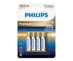 Philips Premium Alkaline AAA (4szt) (LR03M4B/10)