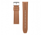 Huawei Pasek Skórzany do Huawei Watch GT jasny brąz (55031983 / 6901443346189)