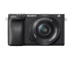 Sony ILCE A6400 + 16-50mm czarny  (ILCE6400L)