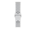 Apple Pasek Sportowy Nike do Apple Watch czysta platyna (MTMY2ZM/A)