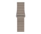 Apple Opaska Skórzana do Apple Watch piaskowiec (MTHC2ZM/A)