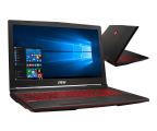 "Notebook / Laptop 15,6"" MSI GL63 i7-8750H/16GB/240+1TB/Win10X RTX2060"