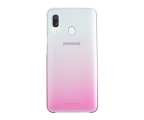 Samsung Gradation cover do Galaxy A40 różowy (EF-AA405CPEGWW)