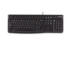 Klawiatura  przewodowa Logitech K120 Keyboard czarna USB