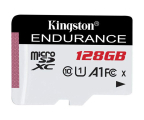 Kingston 128GB High Endurance 95/30 MB/s (odczyt/zapis)  (SDCE/128GB)