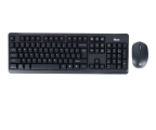 Zestaw klawiatura i mysz Silver Monkey Business Office Wireless Set
