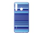 Huawei Plecki Dekoracyjne do Huawei P30 Lite Blue Line (51993075)