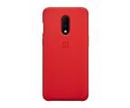 OnePlus Silicone Protective Case OnePlus 7 czerwony  (5431100087)