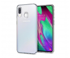 Spigen Liquid Crystal do Samsung Galaxy A40 Clear  (618CS26245 / 8809640256363)