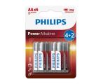 Philips Power Alkaline AA (6szt) (LR6P6BP/10)