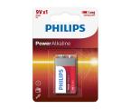 Philips Power Alkaline 9V LR61 (1szt) (6LR61P1B/10)