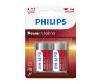 Philips Power Alkaline C LR14 (2szt) (LR14P2B/10)