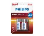 Philips Power Alkaline AAA (6szt) (LR03P6BP/10)