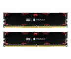 GOODRAM 8GB 2400MHz IRIDIUM Black CL15 (2x4GB) (IR-2400D464L15S/8GDC)