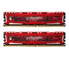Crucial 16GB 2666MHz Ballistix Sport CL16 RED (2x8GB) SR  (BLS2K8G4D26BFSEK)