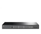 TP-Link 28p TL-SL5428E (24x10/100Mbit 4x1Gbit/SFP) (T2500-28TC (TL-SL5428E) (zarządzalny))
