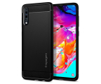 Spigen Rugged Armor do Samsung Galaxy A70 Black (620CS26386  / 8809640257483)