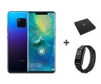 Huawei Mate 20 Pro Twilight + Gift BOX + Band A2 czarny  (Laya-L29C Twilight + 55030474 + AW61 Black)