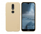 Nillkin Super Frosted Shield do Nokia 4.2 złoty (6902048179998 )